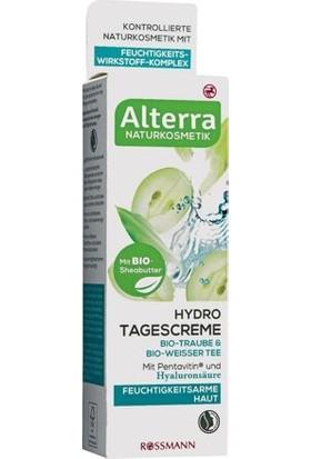 Alterra Vegan Gündüz Kremi Su Bazlı Üzüm&beyaz Çay İçerikli 50 ml