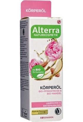 Alterra Vücut Yağı Şakayık Çiçeği & Badem İçerikli 100 ml