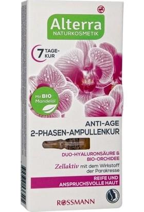 Alterra Vegan Anti Age Bakım Kürü Ampul Orkide ve Aloe Veralı 7ml