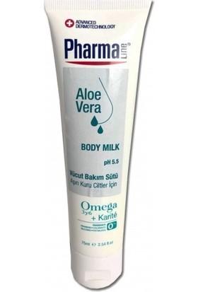 Pharmaline Aşırı Kuru Ciltler için Vücut Bakım Sütü 75 ml