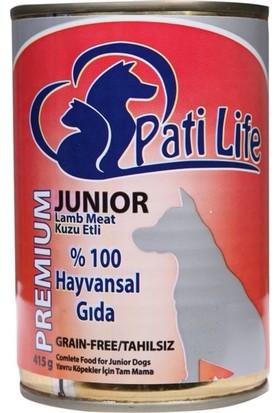 Pati Life Tahılsız Yavru Köpek Konservesi 415 Gr 24'lü