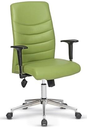 Uzay Ofis Style Şef Koltuğu - Yeşil