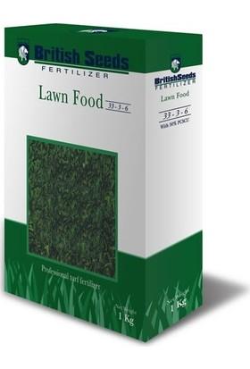 British Seeds 33-3-6 Çim Besleme Ve Şok Tedavi Gübresi - Granül Gübre - 1 kg
