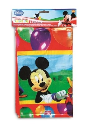 Cakes Party Lisanslı Mickey Mouse Masa Örtüsü