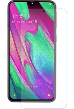 Ally Samsung Galaxy A40 Tempered Cam Ekran Koruyucu Şeffaf