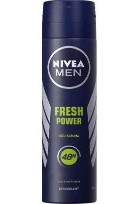 Nivea Fresh Power 150 ml Erkek Deodorant 6'lı Set