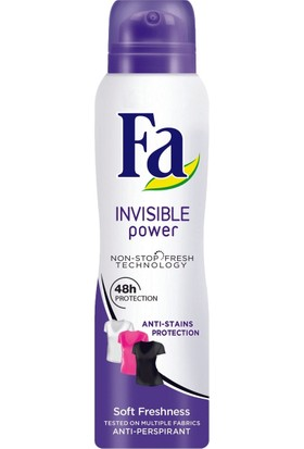 Fa Sport Invisible Power Kadın 150 ml Deodorant 6'lı Set