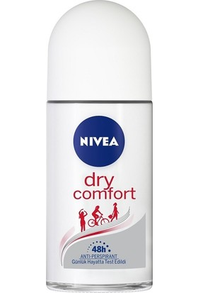 Nivea Dry Comfort Kadın 50 ml Roll On 6'lı Set