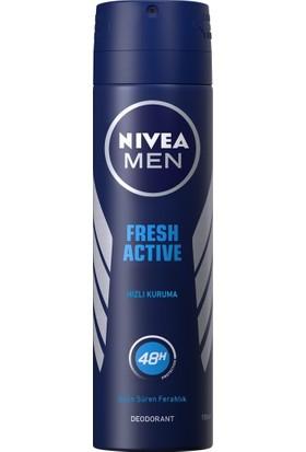 Nivea Fresh Erkek 150 ml Deodorant 6'lı Set