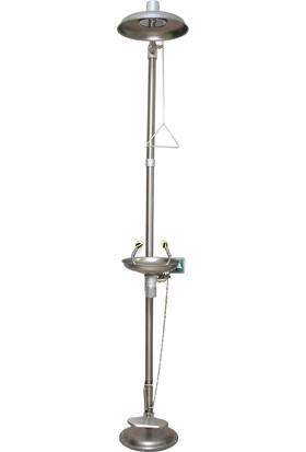 Naxoflex ODK1710-1B Göz ve Vücut Duşu 304 Krom Paslanmaz