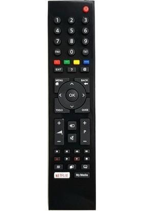 Arçelik Beko Netflix Tuşlu Smart LED Tv Uyumlu Kumanda