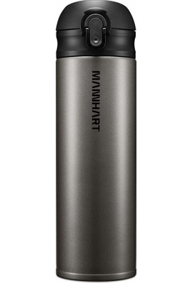 Mannhart by Spigen B203 Hafif ve Ince Sızdırmaz Çift Kilit Mekanizmalı Çift Katmanlı Travel Mug Termos 500 ml Hot 8h / Cold 24h - 000EH24564