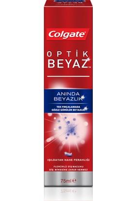 Colgate Optik Beyaz Anında Beyazlık Beyazlatıcı Diş Macunu 75 ml
