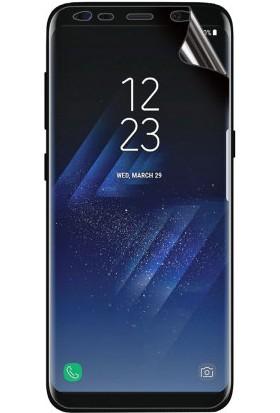 Monsterskin Samsung Galaxy S8 Ön Arka Pet 5D Full Kaplayan İnce Ultra Darbeye Dayanaklı Ekran Koruyucu