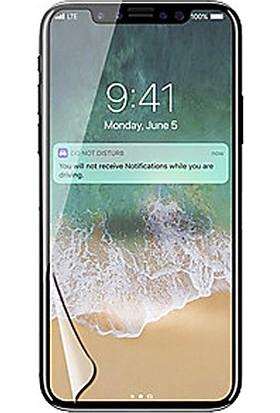 Monsterskin Apple iPhone X / XS Pet 5D Full Kaplayan İnce Ultra Darbeye Dayanaklı Ekran Koruyucu