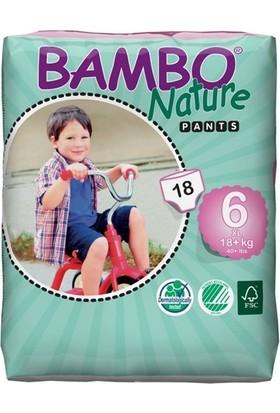 Bambo Nature No 6 Alıştırma Külodu 18 kg+ / 18' li