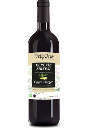Deppone Fermente Kereviz Sirkesi 500 ml