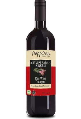 Deppone Fermente Kırmızı Şarap Sirkesi 500 ml