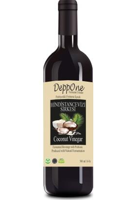 Deppone Fermente Hindistan Cevizi Sirkesi 500 ml