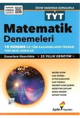 Aydın Yayınları TYT Matematik 10 lu Deneme Sınavı