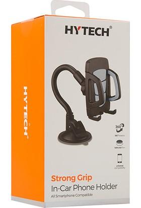 Hytech HY-XH20 Vantuz + Braketi 360 Derece Siyah/Gri Telefon Tutucu