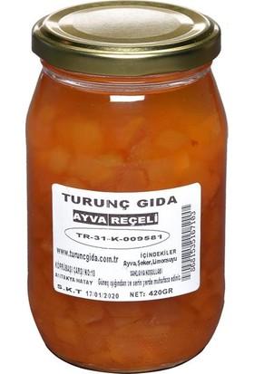 Turunç Gıda Ayva Reçeli Cam Kavanoz 400 gr