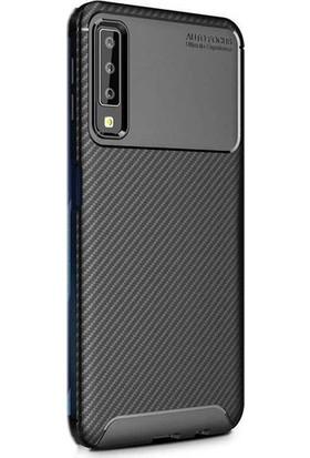 Beğenseç Galaxy A70 Kılıf Zore Negro Silikon-Siyah