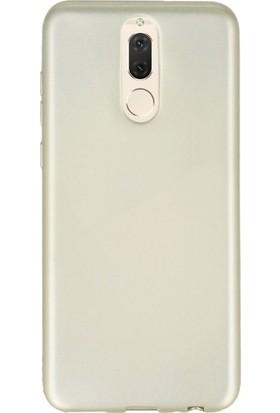 Kılıfreyonum Huawei Mate 10 Premier Rubber Silikon Kılıf Gold