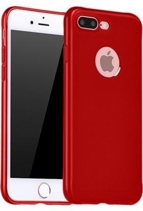 Kılıfreyonum Apple iPhone 7 Plus Premier Rubber Silikon Kılıf Kırmızı