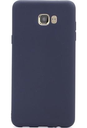 Kılıfreyonum Samsung Galaxy C9 Pro Premier Rubber Silikon Kılıf Siyah