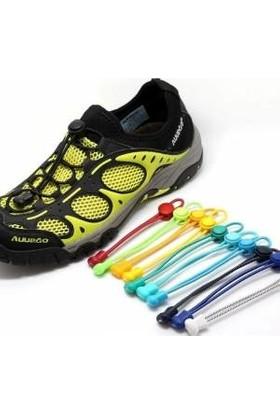 Akıllı Kilitli Elastik Ayakkabı Bağcık 100 cm