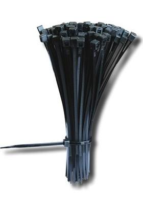 Maasco Ultraviyole (Uv Dayınıklı) Siyah Kablo Bağı 364X7.6 (500 Adet)