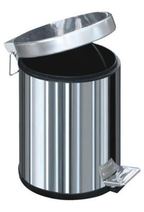 Arı Metal Metal Pedallı Çöp Kovası 3 Lt-1001