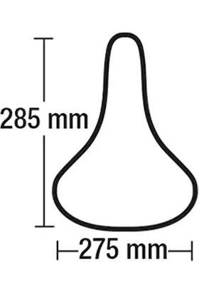 Bi̇si̇klet Jel Sele Bell Comfort Channel Jel 750