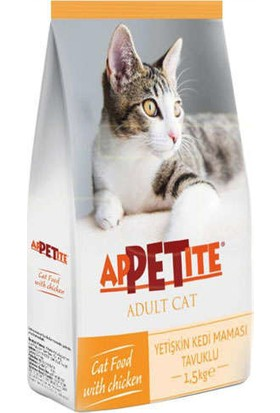 Appetite Tavuklu Yetişkin Kuru Kedi Maması 1,5 kg