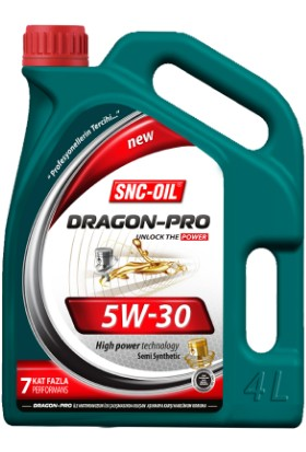 Snc Dragon Pro 5W30 4 Litre Motor Yağı
