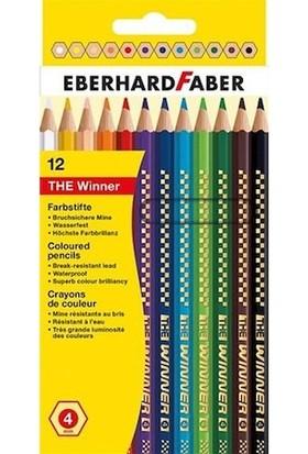 Eberhard Faber Kuru Boya 12Li The Winner 4Mm Mine