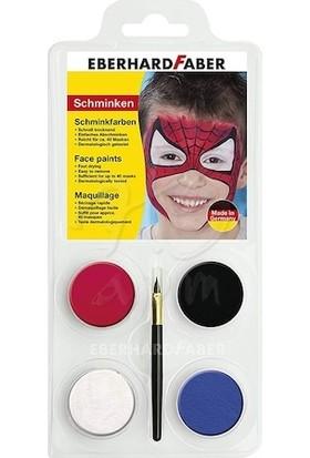 Eberhard Faber Yüz Boyası 4 Renk Spiderman