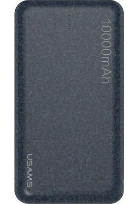 Usams 10000 mAh 15 mm Ultra İnce Powerbank Mavi