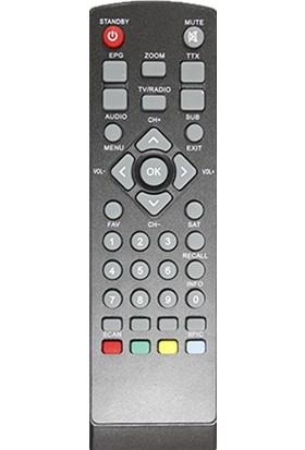 Zapp-1665 Korax Minibox Tkgs Uydu Kumandası
