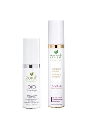 Zorah C-Nature Pure Argan Anti-Aging Complex 50ML + Zorah Ora Eye Countour Cream 30 ml