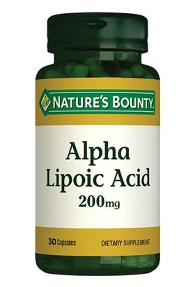 Natures Bounty Alpha Lipoic Acid 200 Mg 30 Kapsül
