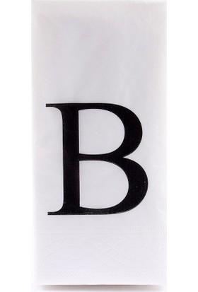 The Company B Harf Peçete 33 cm