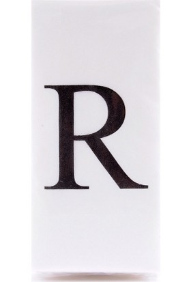 The Company R Harf Peçete 33 cm