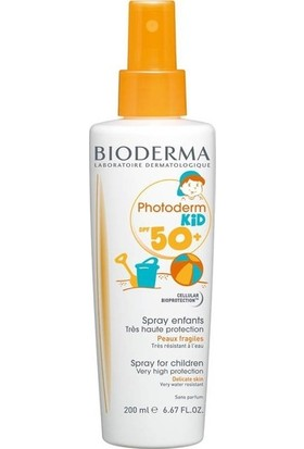 BIODERMA Photoderm Kid 200 ml (SPF50+ UVA36)