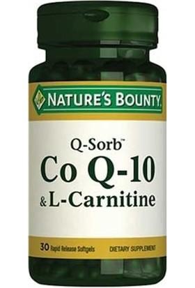 Nature's Bounty Coq 10 & L Carnitine 30 Kapsül