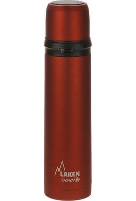 Laken Çelik Termos 1Lt Kırmızı LK180010R
