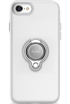 Puro Magnet 360° iPhone 7/8 Ring Cover White