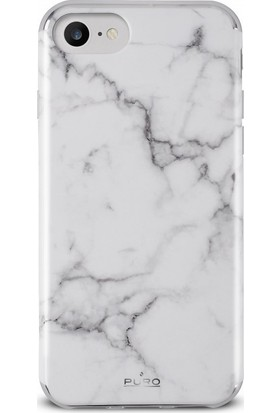 Puro Marble Cover iPhone 7/8 Statuary White