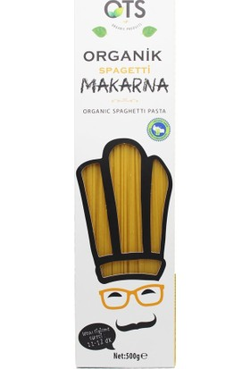 Ots Organik Spagetti Makarna 500 gr